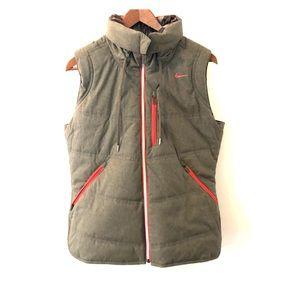 *NWOT* NIKE Reversible Womens Golf Vest w/ Hood L